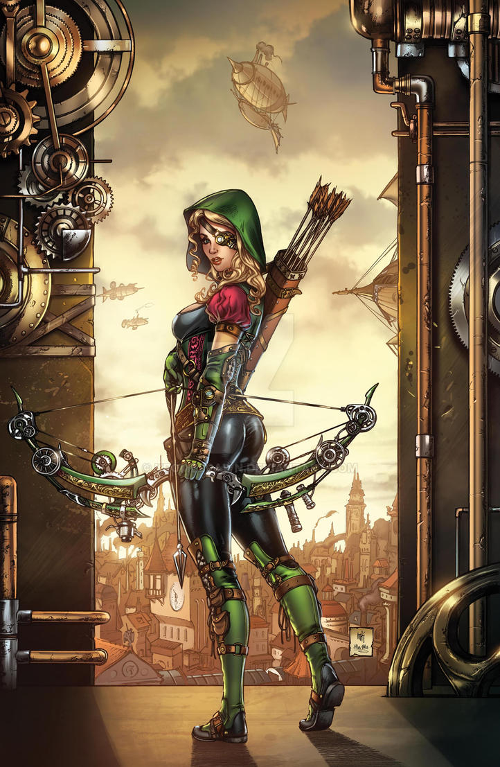 GFT Steampunk #1 Cover by Kromespawn