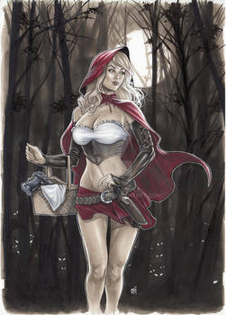 Red Riding Hood commission