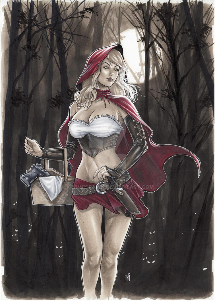 Red Riding Hood commission by Kromespawn