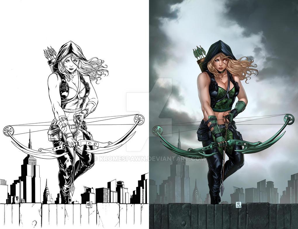 GFT Genesis: Heroes Reborn cover by Kromespawn