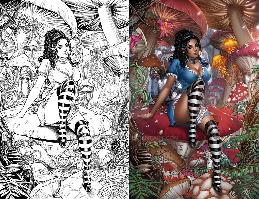 Wonderland Year One Cover by Kromespawn