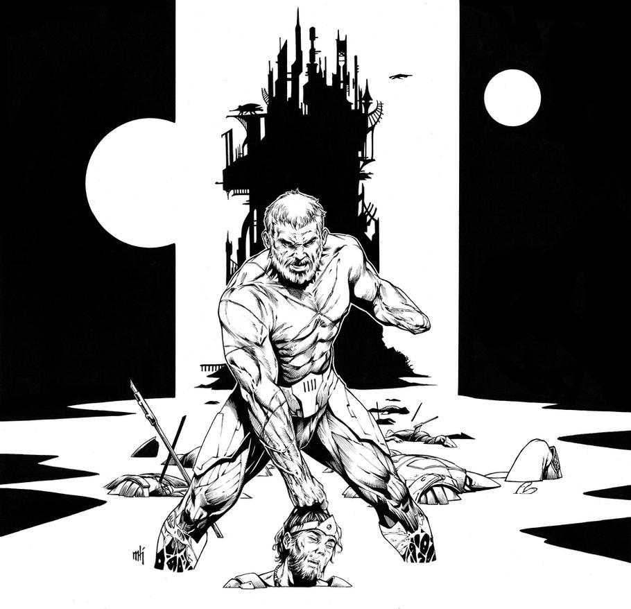 X-O Manowar by Kromespawn