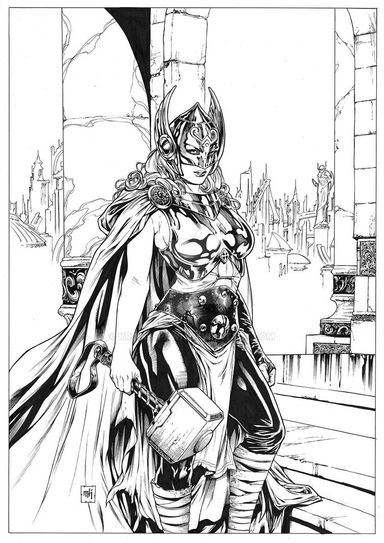Thor by Kromespawn