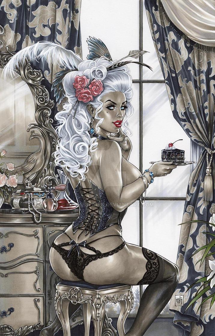 Antoinette by Kromespawn