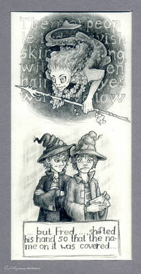 Bookwordsketches #9 and #10