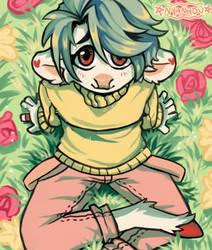 soft meadow by nyanhou