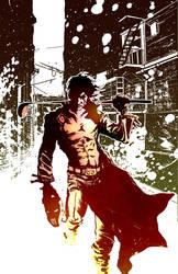 TMNT: Unused Casey Jones 1 by ComicMunky