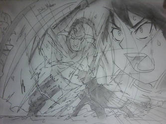 Sword Art Online - Kirito vs Gleam Eyes!! by Binbougami