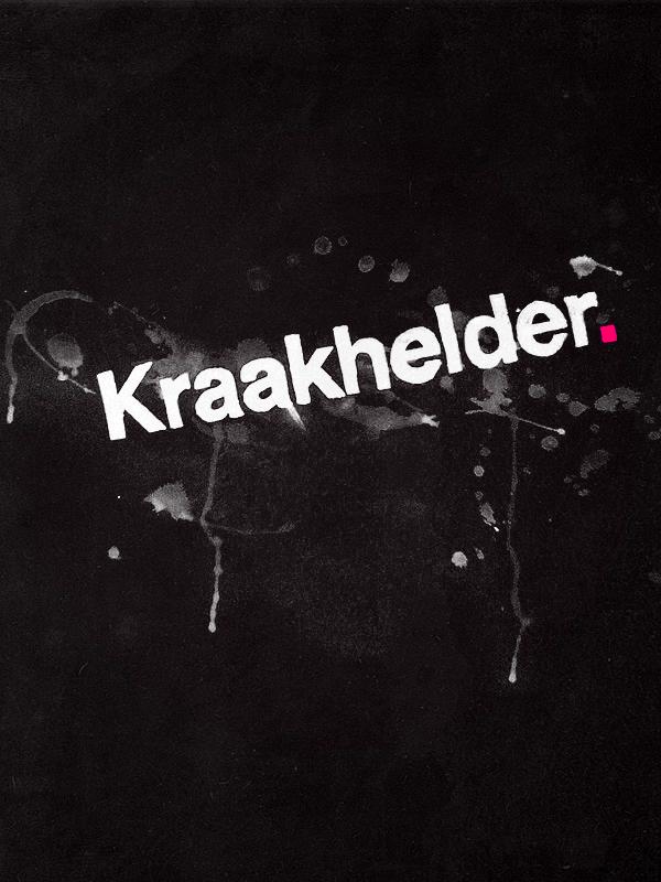 Kraakhelder. logo -painted- by Martijn86