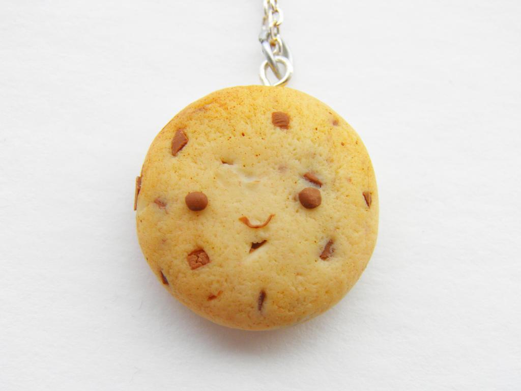 Girls Sugar Cookie Necklace