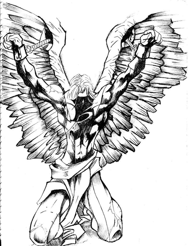 angel x men by zetorches on deviantart