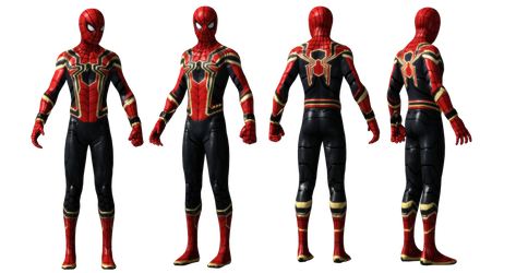 Iron Spider DETAIL Spiderman Homecoming UPDATED by AditRaidaa