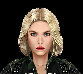 Progress On Black Widow HD by AditRaidaa