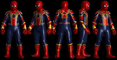 Iron Spiderman Infinity War VR Updated Detail