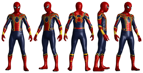 Iron Spiderman Infinity War VR Updated Detail by AditRaidaa
