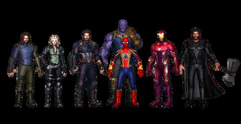 Infinity War HD Texture by AditRaidaa