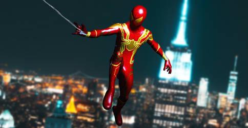 [XNA] Iron Spider MCU Classic Suit by AditRaidaa