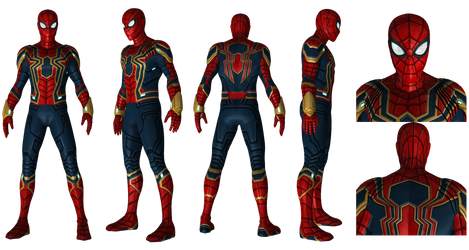 Iron Spider from MCU 4K Resolution
