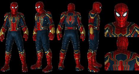Iron Spider from MCU 4K Resolution by AditRaidaa