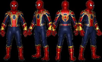 Updated Iron Spider MCU - Detailed by AditRaidaa