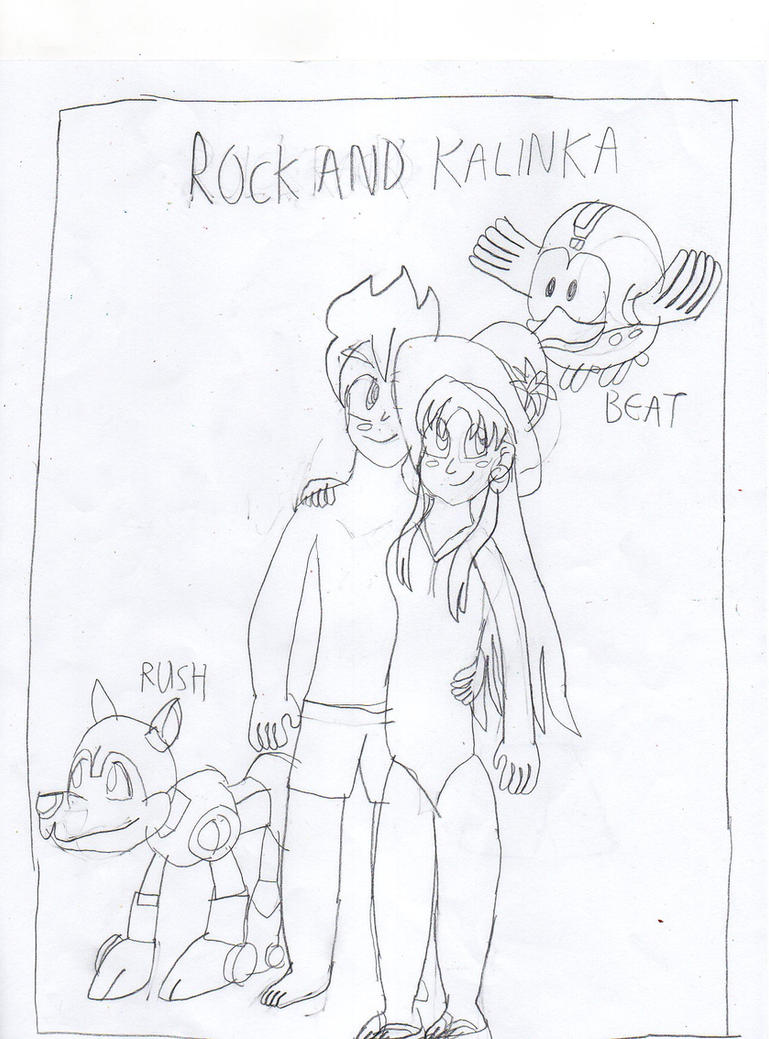 Rock and Kalinka by chaoscontrolmaster