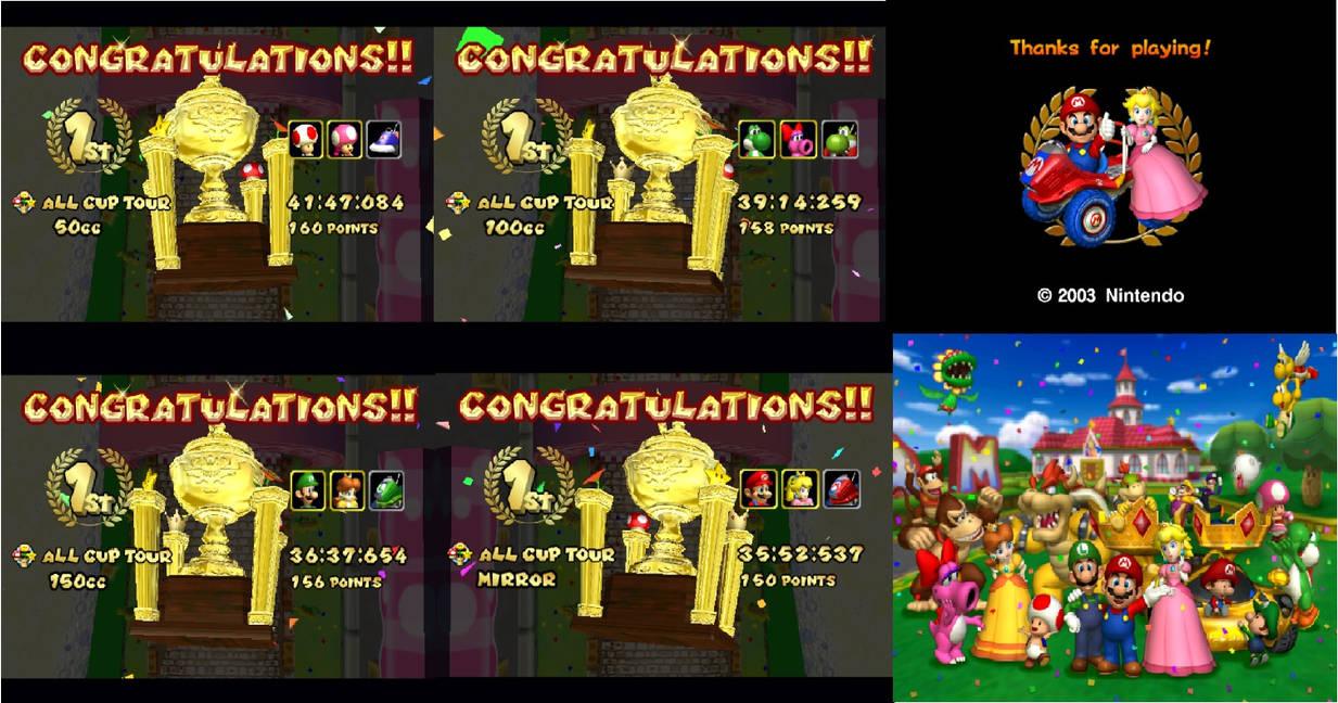 Mario Kart Double Dash Complete By Chaoscontrolmaster On Deviantart