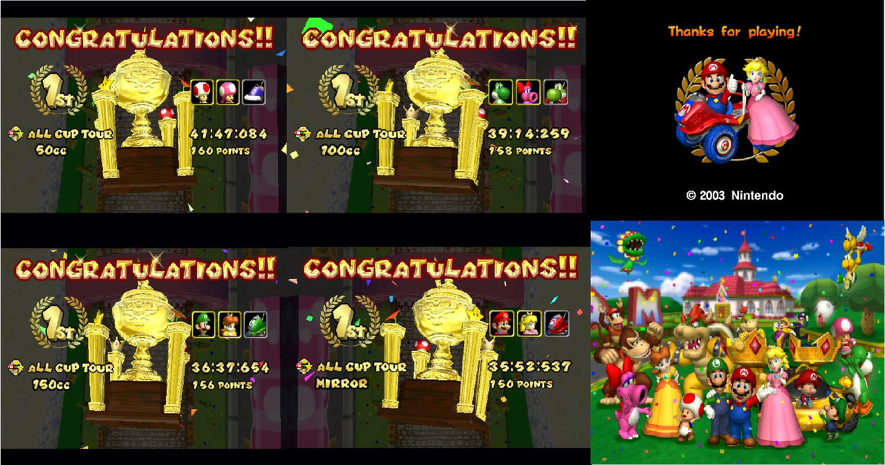 Mario Kart Double Dash Complete By Chaoscontrolmaster On