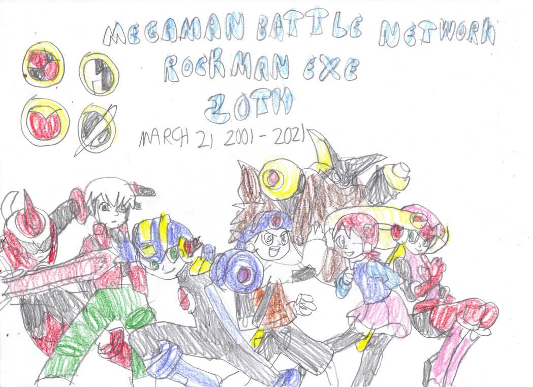 MegaMan Battle Network 20th Anniversary