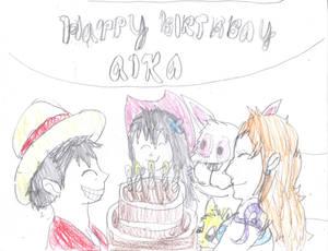 Happy Birthday Aika 2021