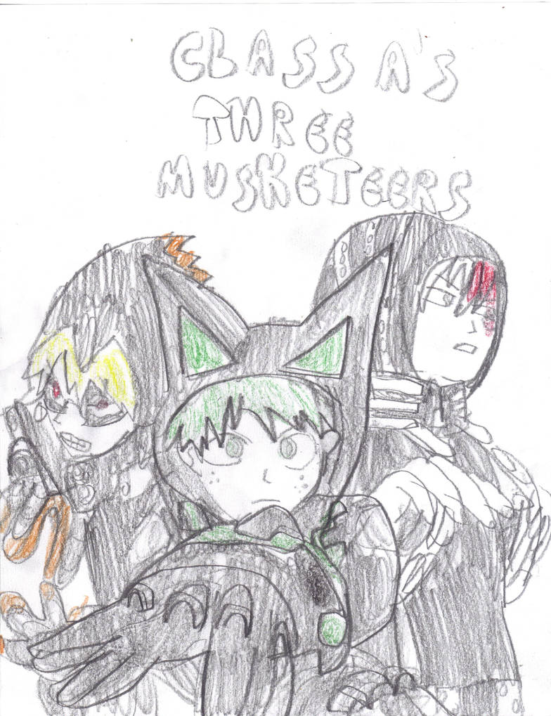MHA Class A's Three Musketeers