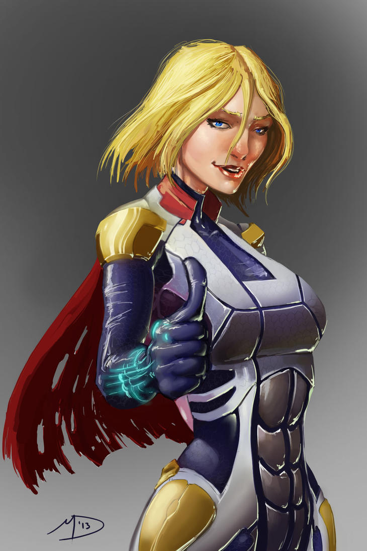 Mass Effect PowerGirl by Madmatt138