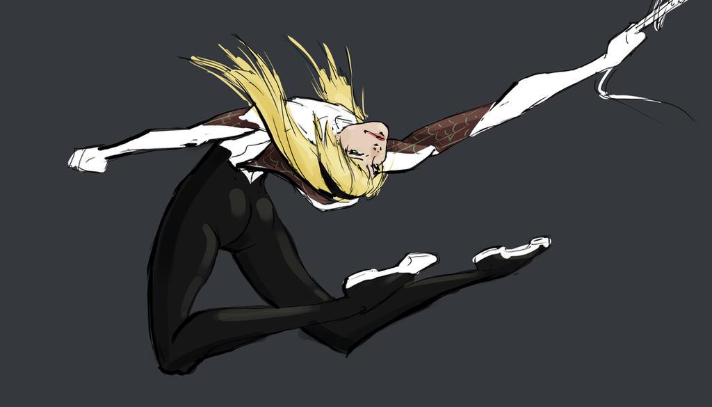 Gwen Stacy Spider-Woman By Madmatt138 On DeviantArt