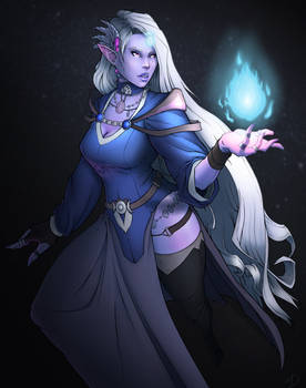 Naurica, Priestess of Sehanine
