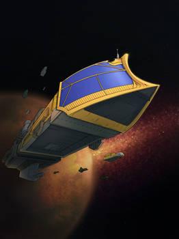 Warhammer 40k Ship