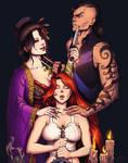 Alex, Kicho, and Daken