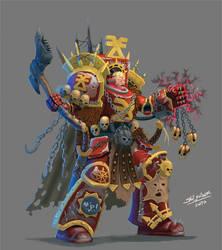 Khorn's terminator by ska-fandr