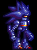 Mecha Sonic SF-Sized Sprite