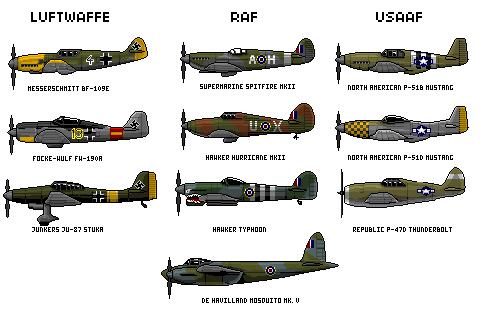 karinclaessonart 101 162 wwii planes by rhopunzel