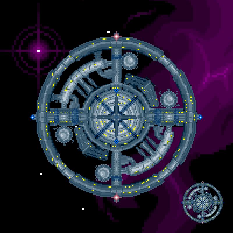 Space Station by Rhopunzel on DeviantArt