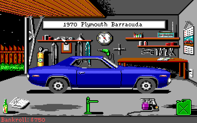 Street Rod (1989 DOS) Tribute: Plymouth Barracuda by Rhopunzel