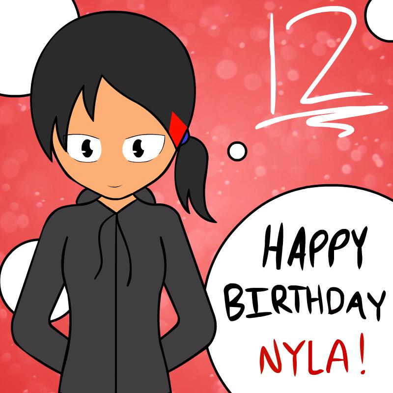 Happy Birthday Nyla! By Enoch23 On DeviantArt