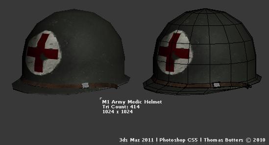 Army Helmet 3d Model Free Download