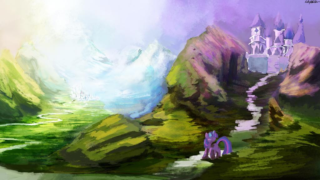 Sparkle's Journey by Lukeine