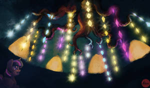 The Chandelier of Friendship and Memories by Lukeine