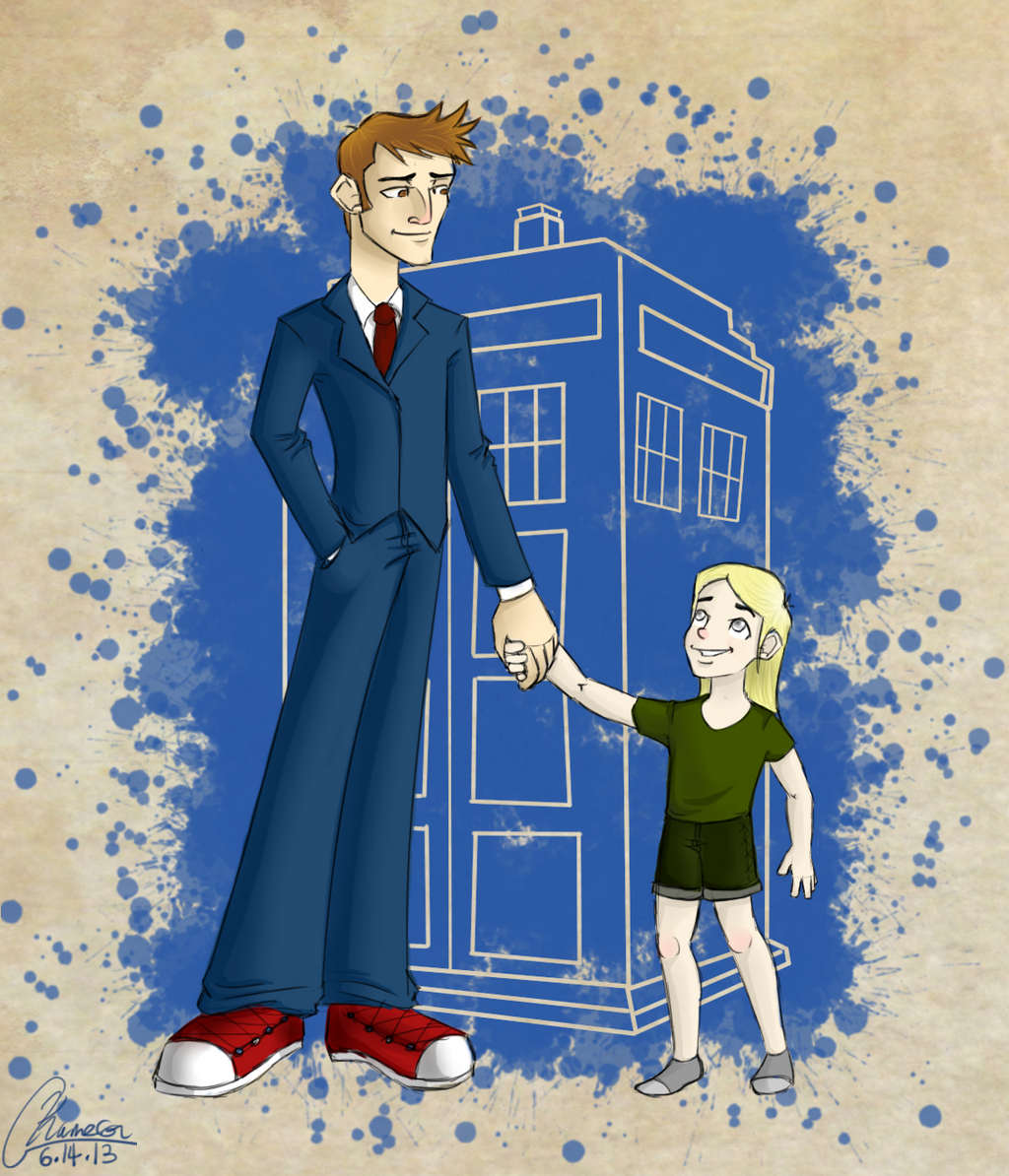 The Doctor and His Daughter by KassieC