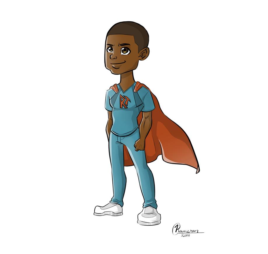 Character Design - Superhero by KassieC