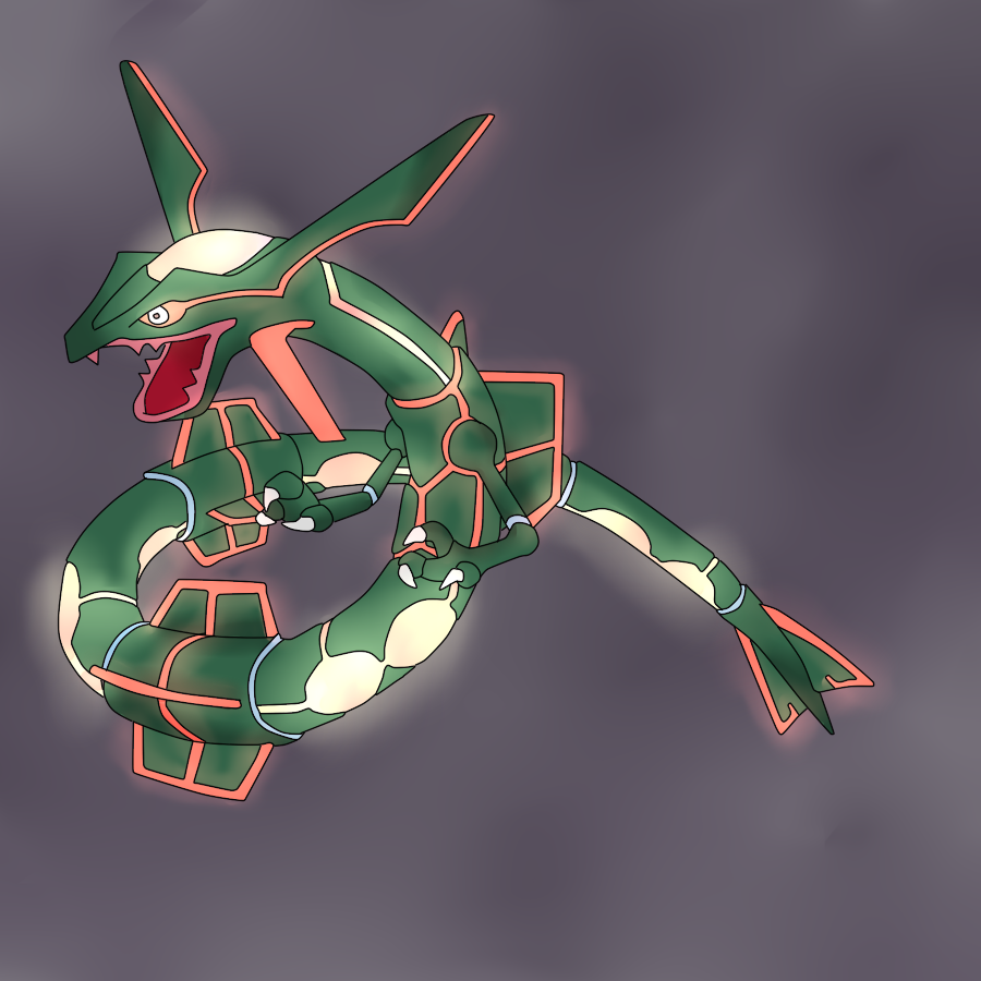 Primal Rayquaza Concept by PseudoLW on DeviantArt