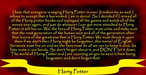 RE: Harry Potter Rant by SuperStarSteiger