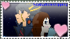 New Years Gift {+Starparticleshipping stamp+} by Kairi-The-Siren