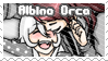Albino Orca Ship Stamp by BlossomCherrie